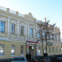 ул. Шевченко - два здания торгового комплекса Гуливер, Павлоград