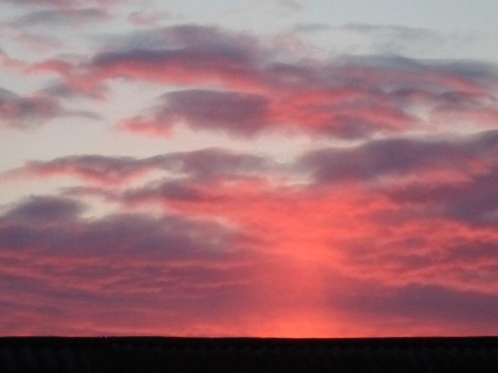 Харабали. Вечернее небо, Харабали