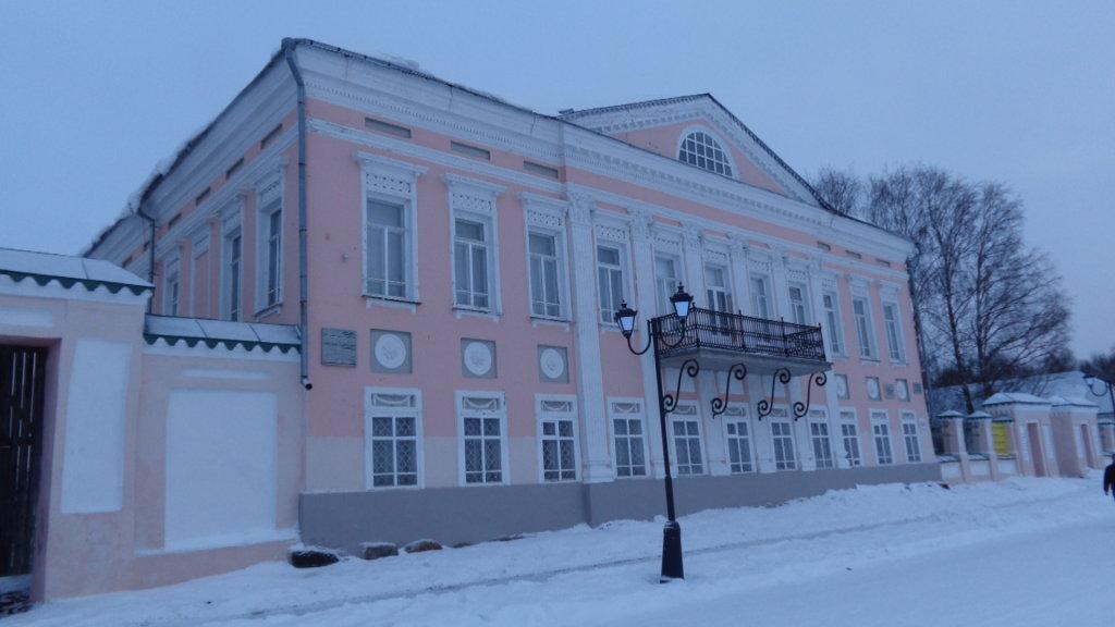 Музей истории, дом купца Усова, Великий Устюг