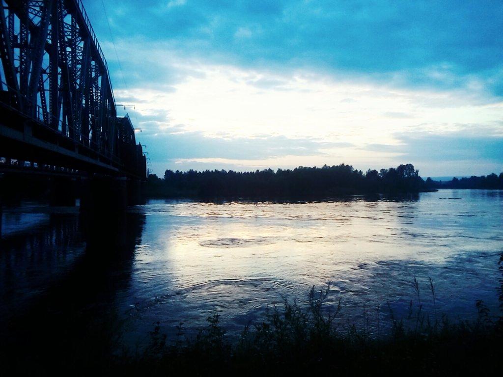 Река Бирюса, Бирюсинск