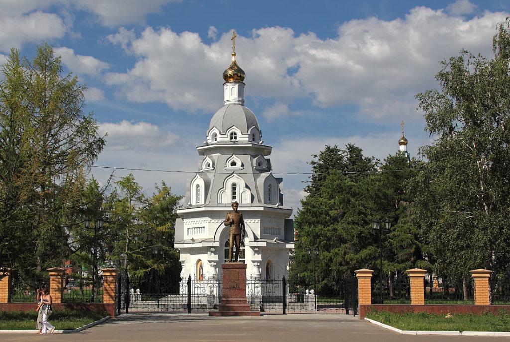 Часовня и памятник А.Котомкину, Йошкар-Ола