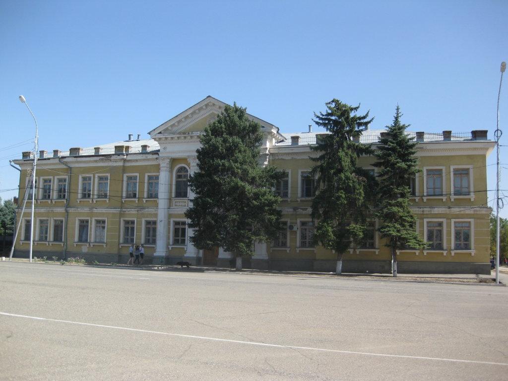 Земская управа 1912г. архитектор А.А.Шрейбер, Буденновск