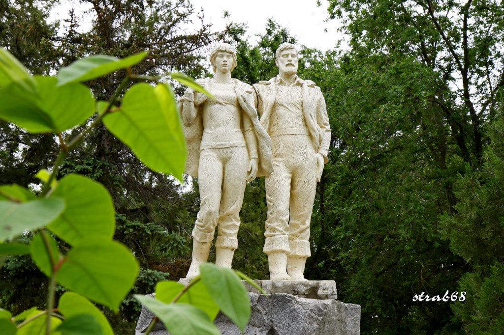 Памятник геологам, Нефтекумск