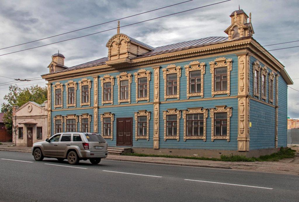 старый   дом   на ул.гладилова, Казань