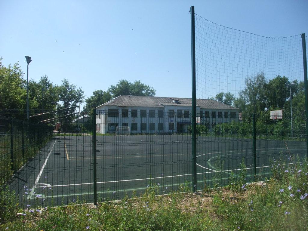 Спортплощадка  перед школой №3, Болохово