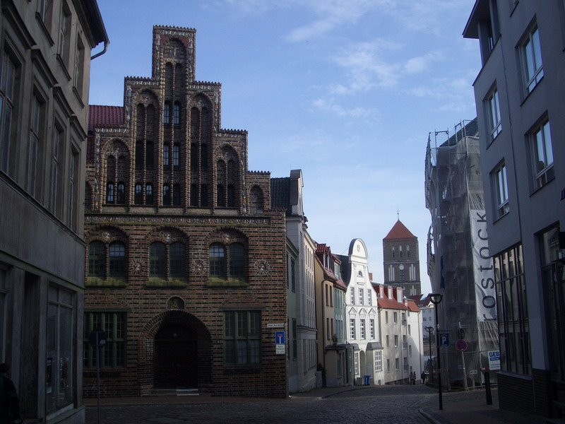 Große Wasserstraße, Росток