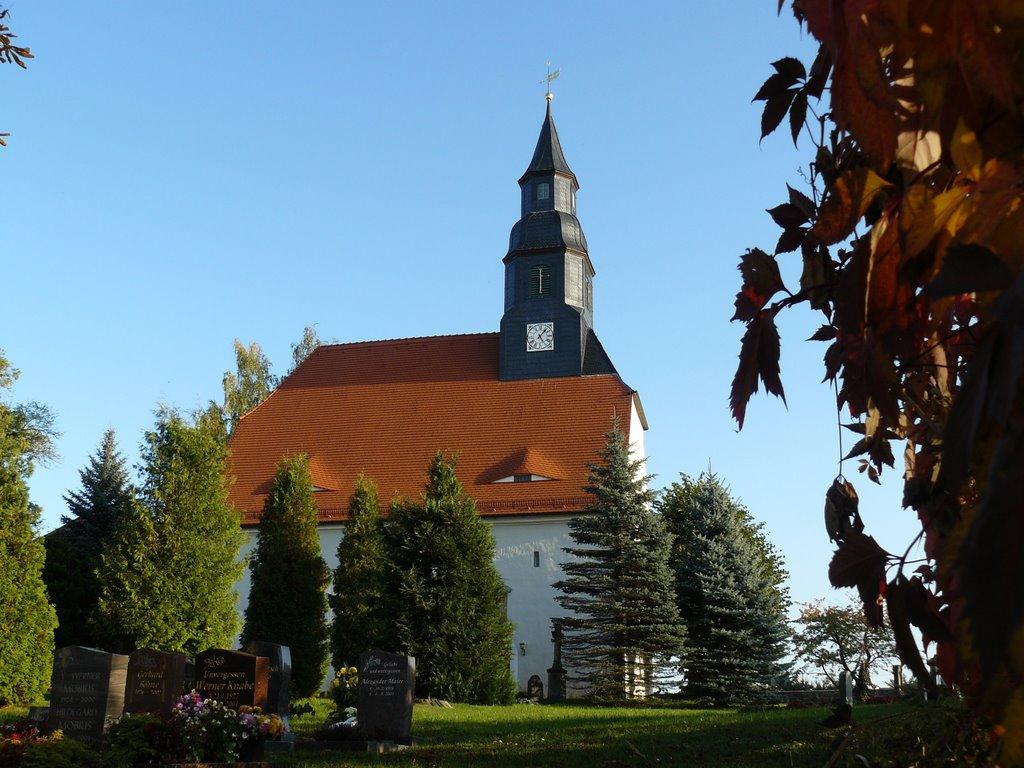 Kirche in Hirschfeld, Радебюль