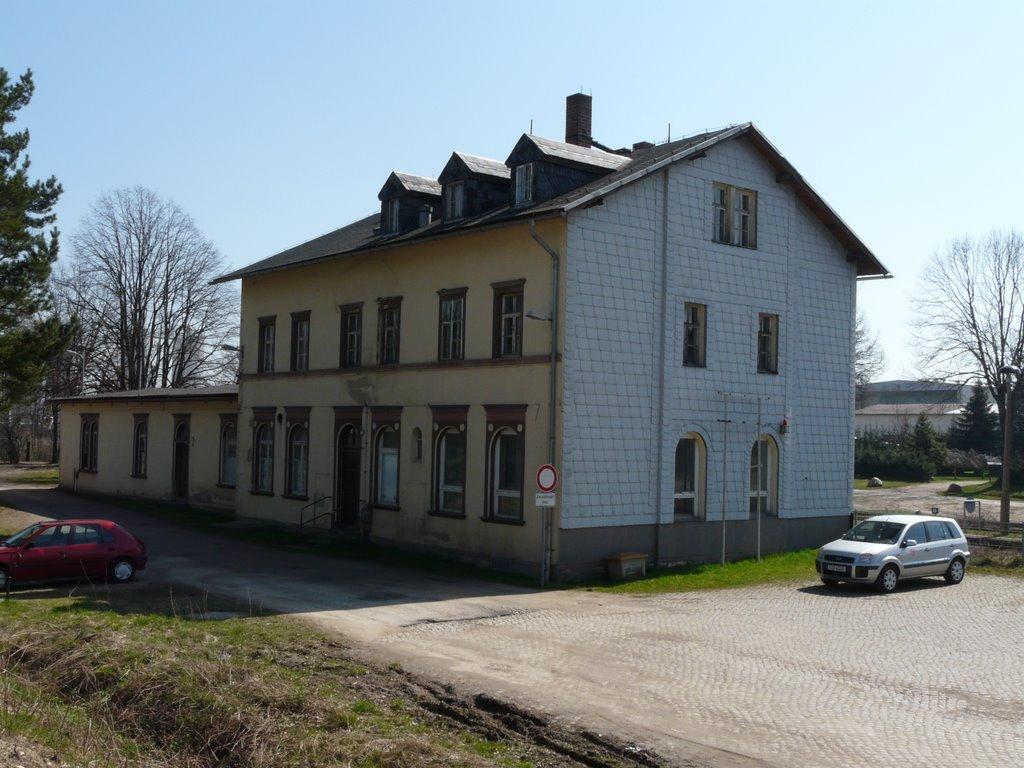 Bahnhof Deutschenbora 1, Радебюль