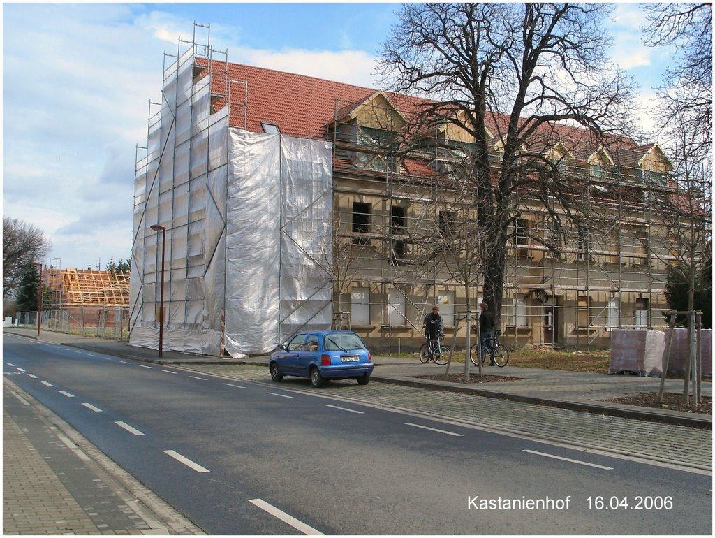 ehem. Gaststätte Kastanienhof, Хойерсверда