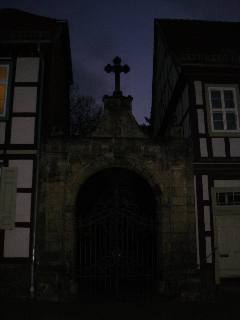 Halberstadt, Tor zum Kirchhof, Халберштадт