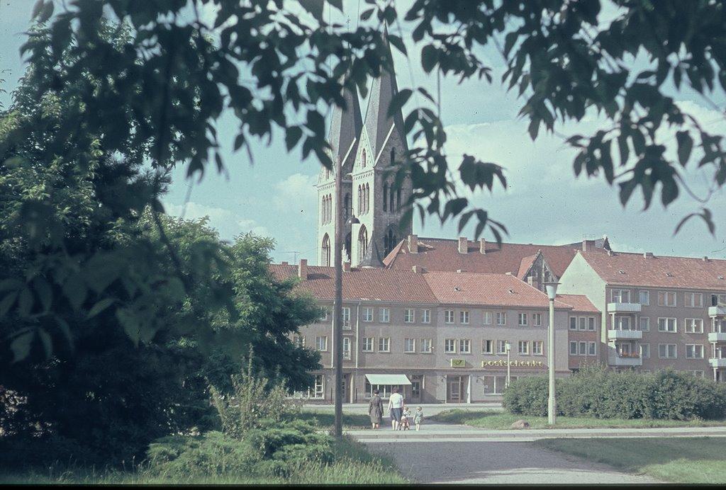 Halberstadt,Blick zum Dom, Халберштадт