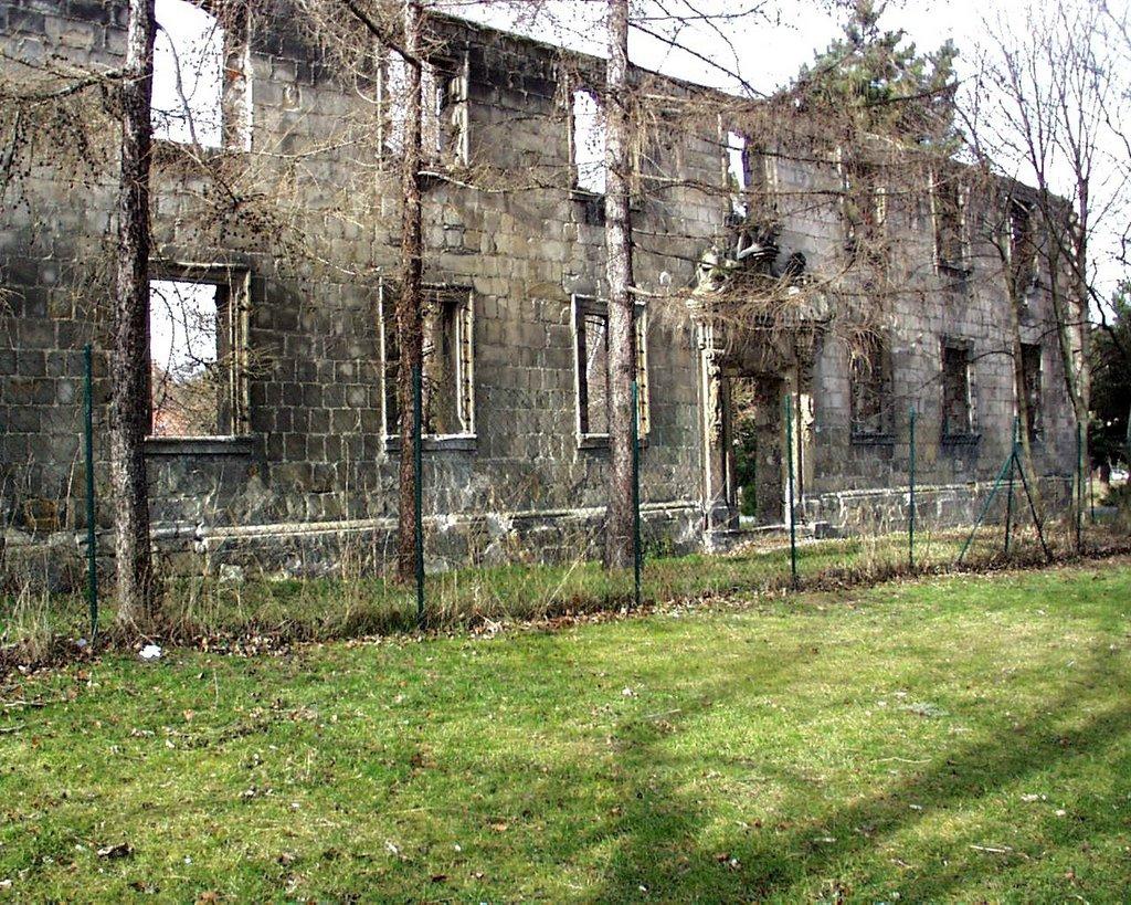 Ruine, Hospital, Халберштадт