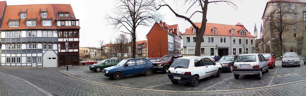 Panorama Bakenstr. - Grudenberg, Халберштадт