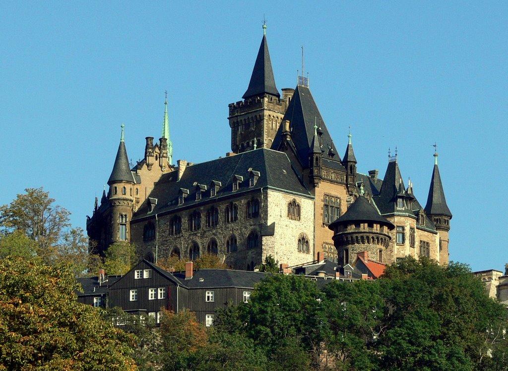 Ka/ Wernigerode Schloss, Вернигероде