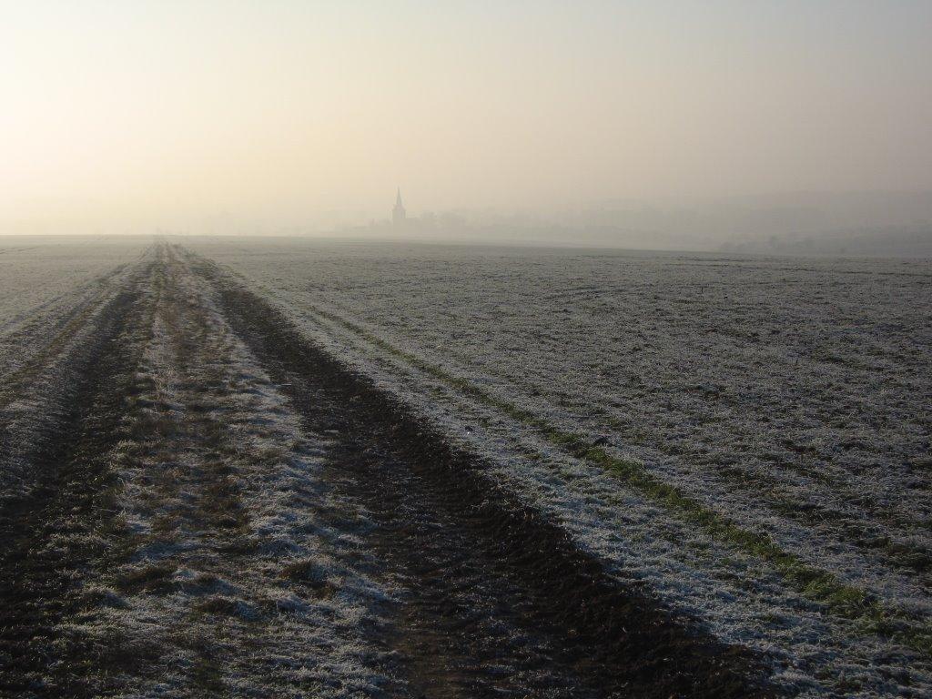 Winteransicht Kirchheim, Эизенах