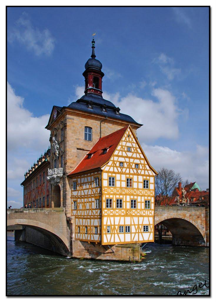 Bamberger Ansichten: Altes Rathaus, Бамберг
