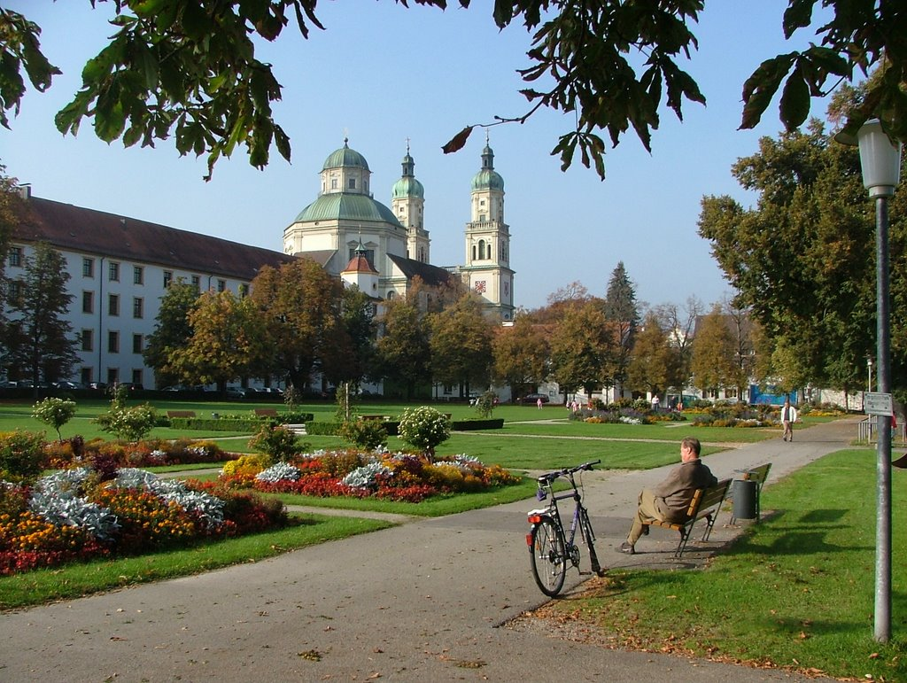 Hofgarten mit Residenz, Кемптен