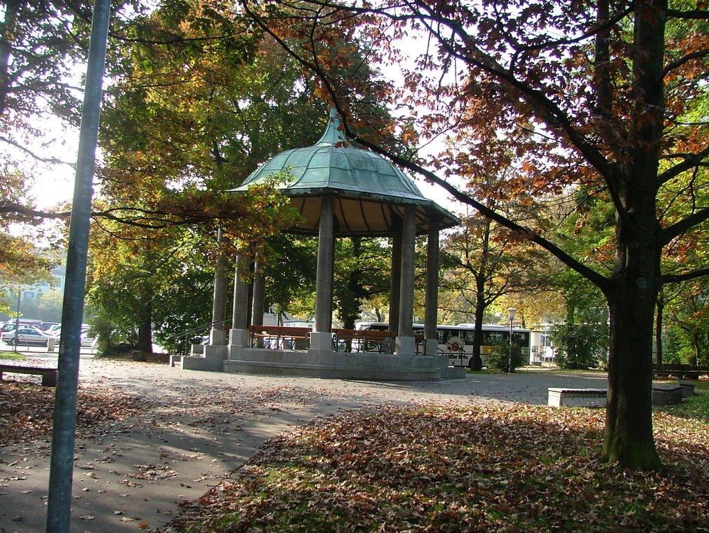 Pavillon im Park am Königsplatz, Кемптен