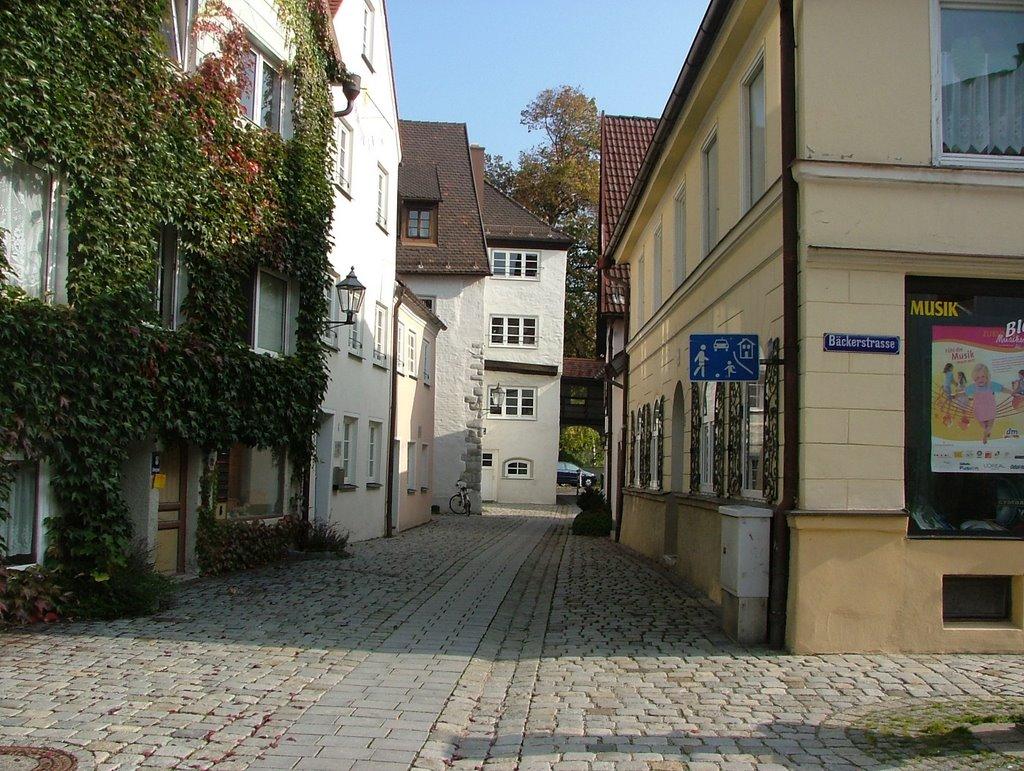 Ankergässele in der Altstadt, Кемптен