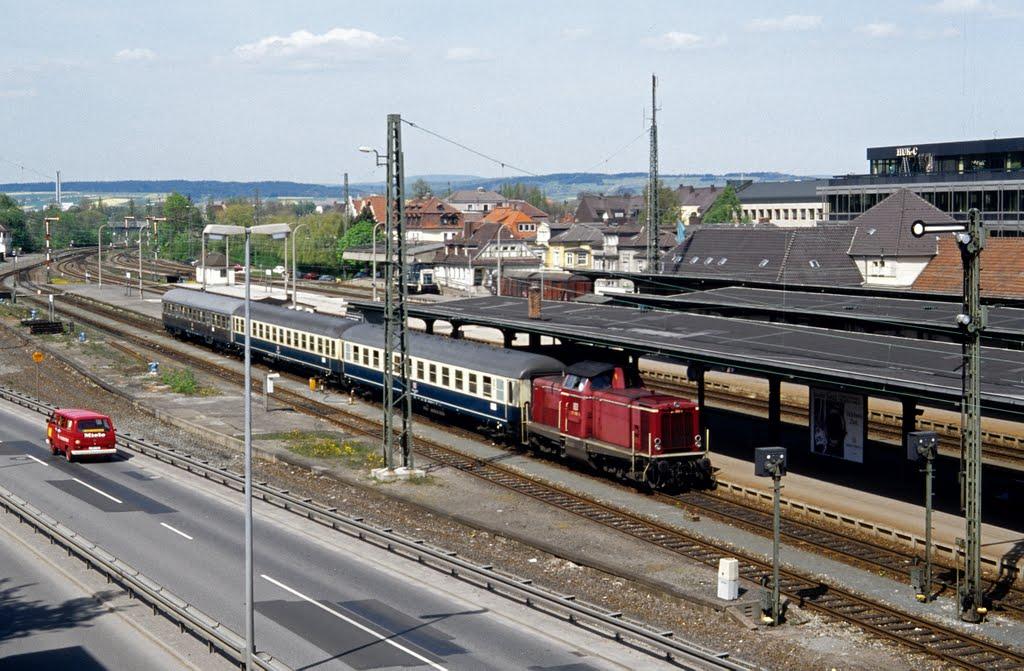 211 058 in Coburg (1995), Кобург