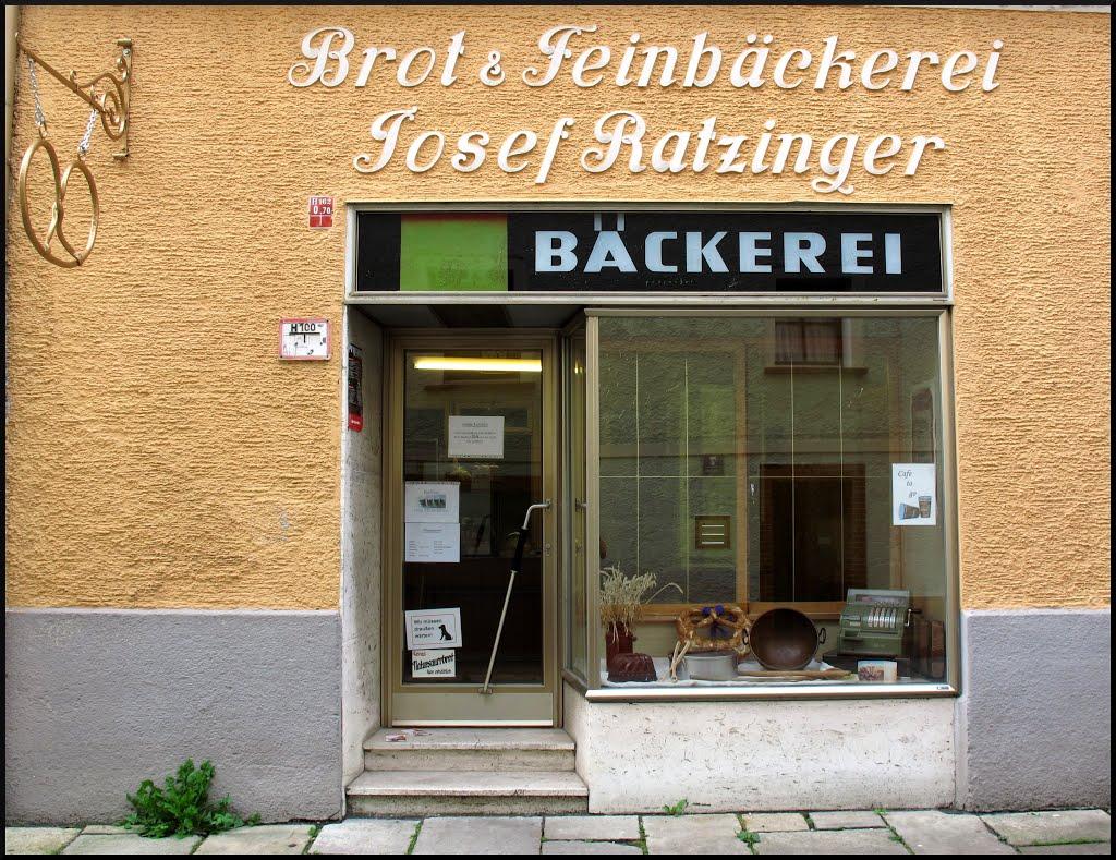 Passau,......Josef Ratzinger.....Brot & Feinbäckerei, Пасау
