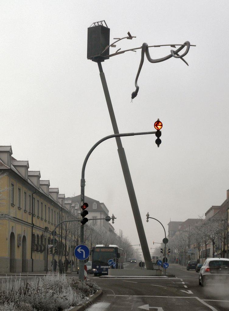 "Ludwigsburg-Schlange-""Verkehrsüberwachung"", Людвигсбург"