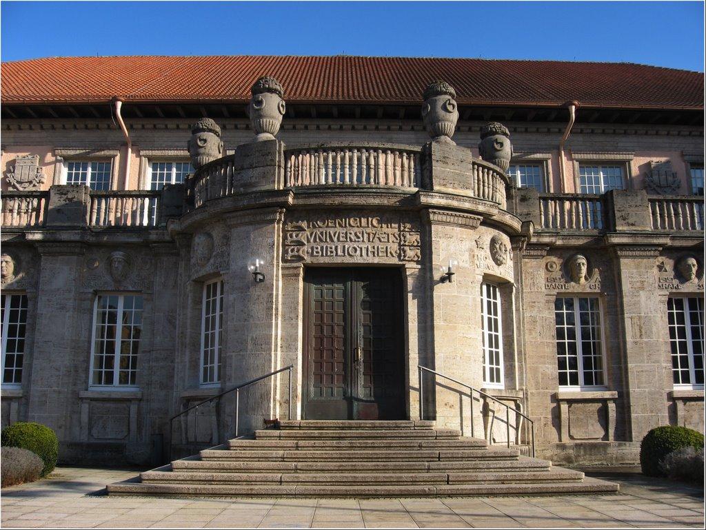 """""""Königliche Universitätsbibliothek"""", Tübingen, Фрейберг"""