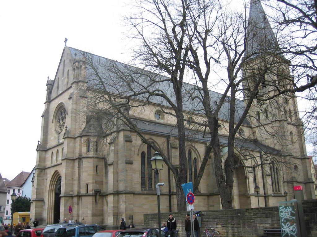 Sankt Johannes Evangelist, Фрейберг