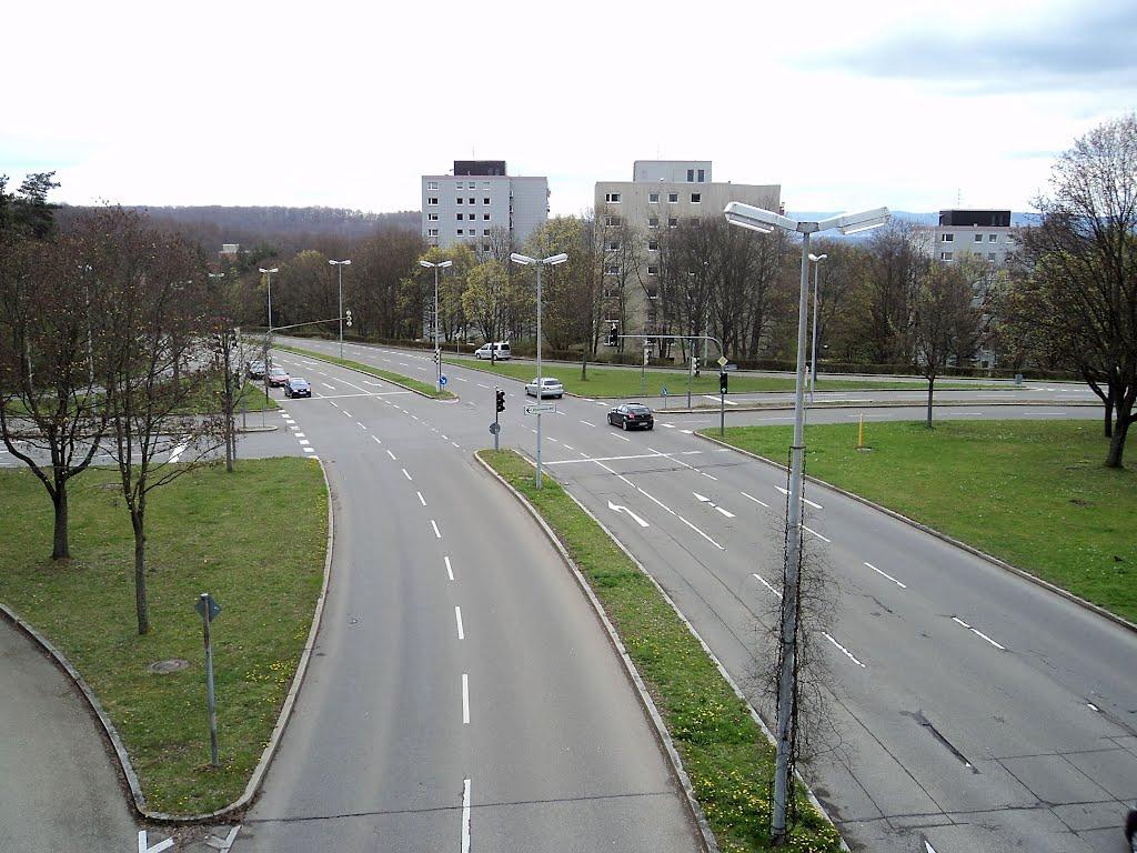 Nordring X Berliner Ring, Waldhäuser Ost, Tübingen, Фрейберг