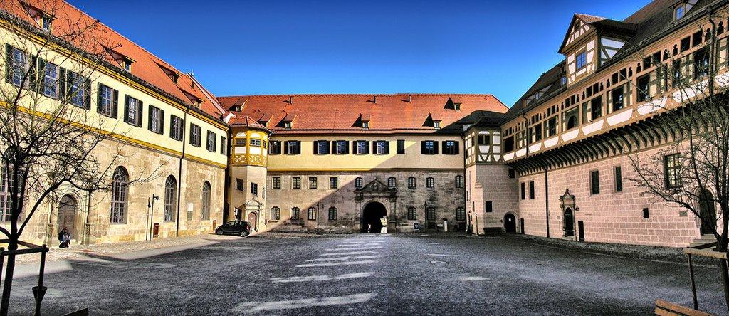 Schloss Hohentübingen - Hof, Фрейберг