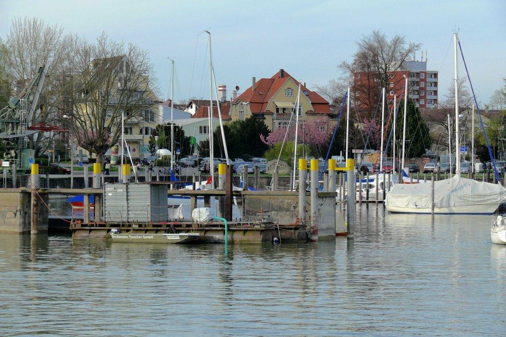 Netter kleiner Hafen, Фридрихсхафен