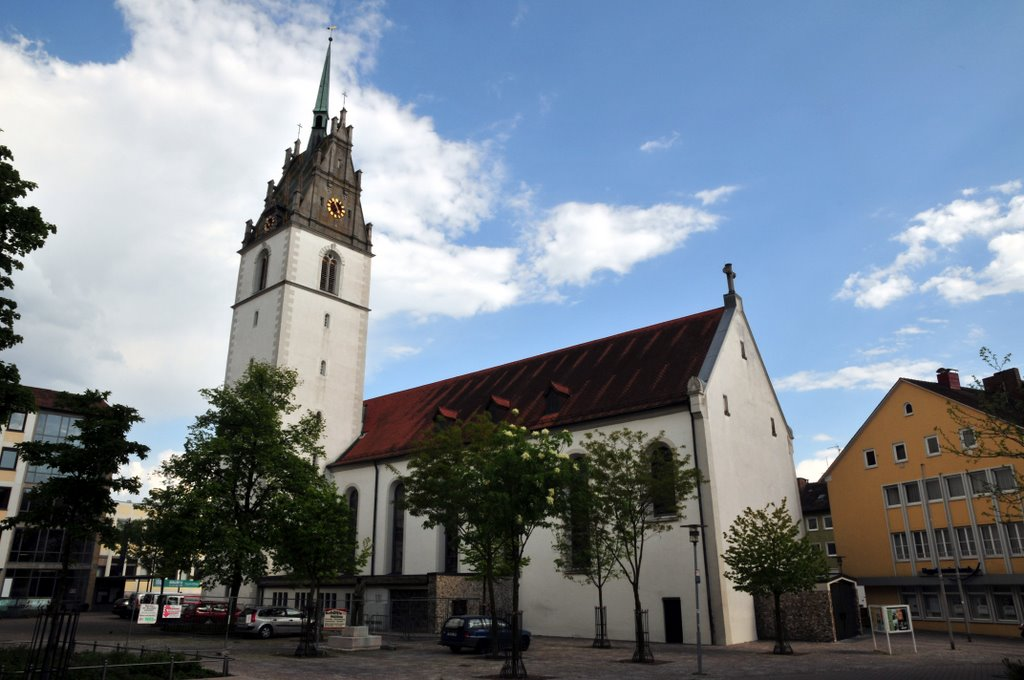 Friedrichshafen Kirche Innenstadt, Фридрихсхафен