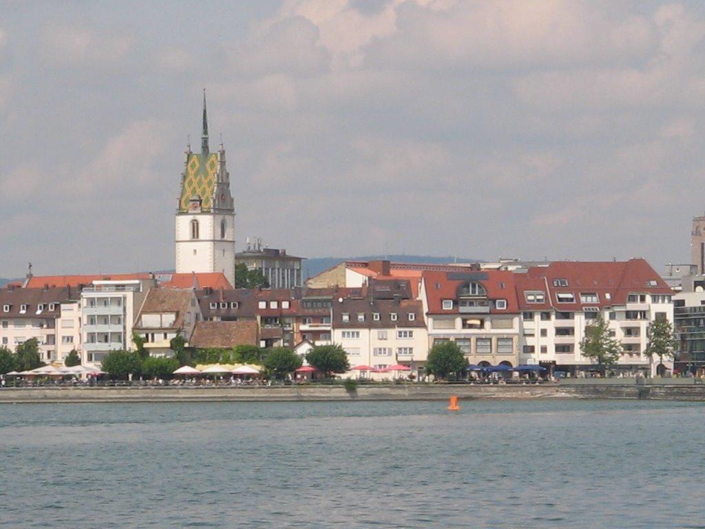 Blick auf Friedrichshafen, Фридрихсхафен