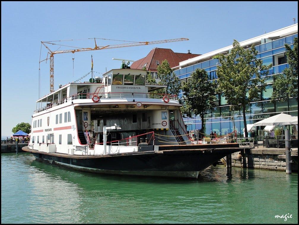 FRIEDRICHSHAFEN nad Jeziorem Bodeńskim/Friedrichshafen on the Constance Lake, Фридрихсхафен