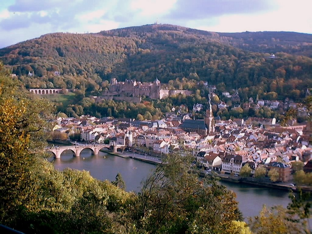 Heidelberg, via dei Filosofi, Хейдельберг