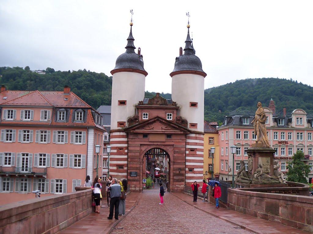 Karl-Theodor-Brücke, Хейдельберг