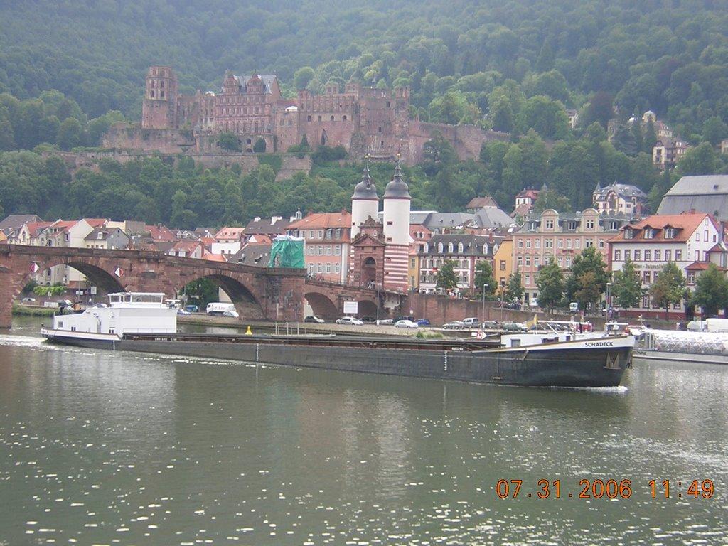 Theodor-Heuss-Brücke, Хейдельберг