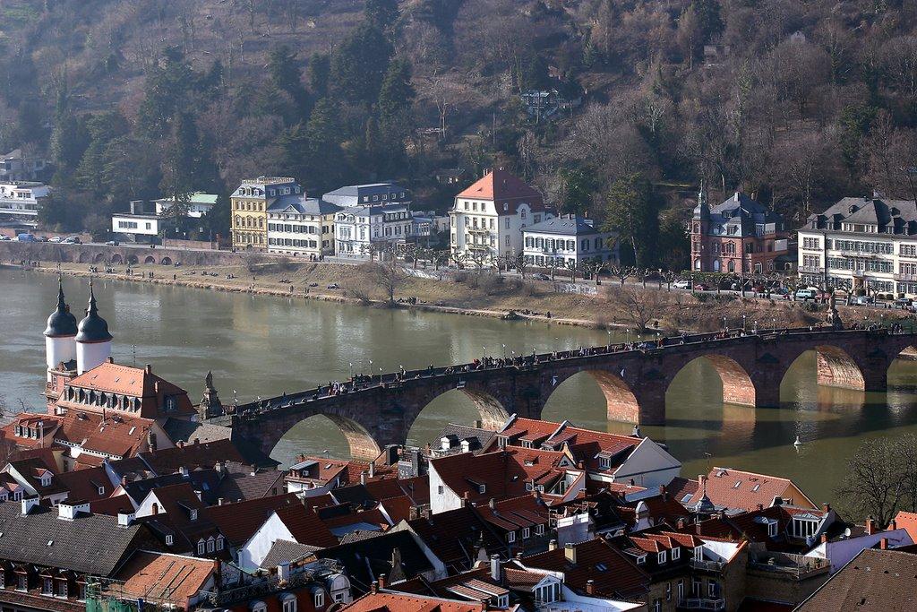 Heidelberg von Oben, Хейдельберг