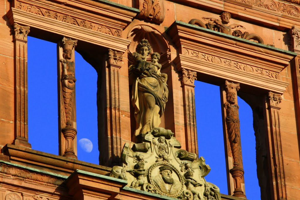 "Heidelberg -the Castle   ""look in the left window""..........CONTEST, Хейдельберг"