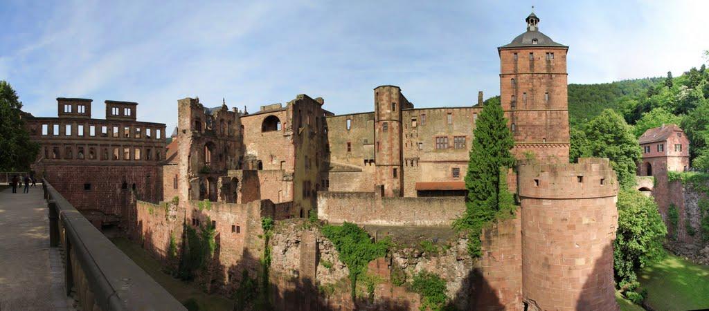 Heidelberg castle, Хейдельберг