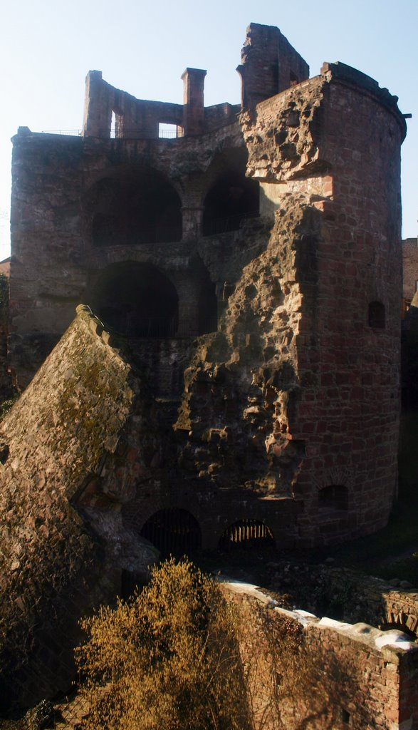Schlossruine Heidelberg, Хейдельберг