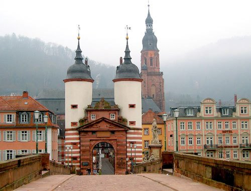 Karl-Theodor-Brücke in Heidelberg, Хейдельберг