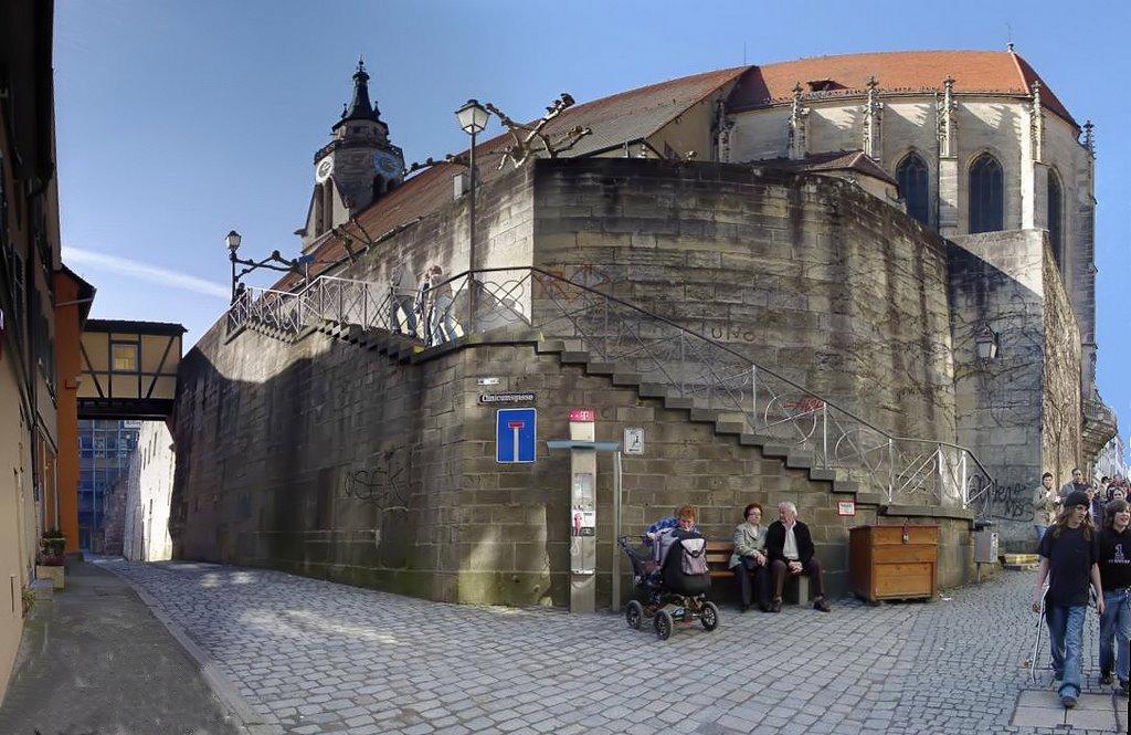 Stiftskirche in Tübingen     -     Sockel, Хейденхейм-ан-дер-Бренц