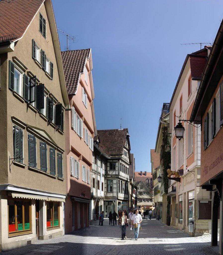 Immer belebt - Altstadt von TÜ, Хейденхейм-ан-дер-Бренц