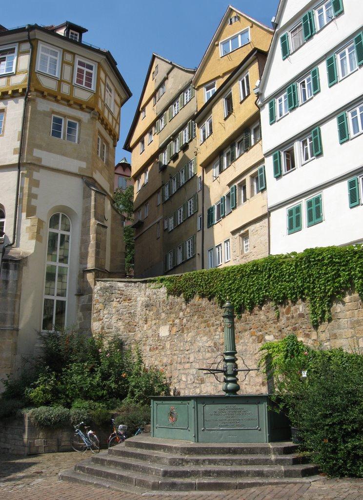 Brunnen vor dem Evangelischen Stift, Хейденхейм-ан-дер-Бренц
