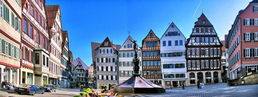 Marktplatz HDR, Хейденхейм-ан-дер-Бренц