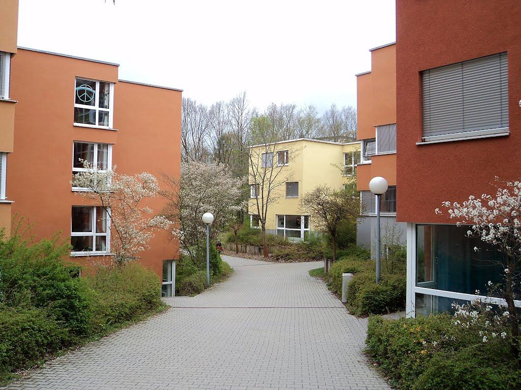 Fichtenweg, Studentendorf, Waldhäuser Ost, Tübingen, Хейлбронн