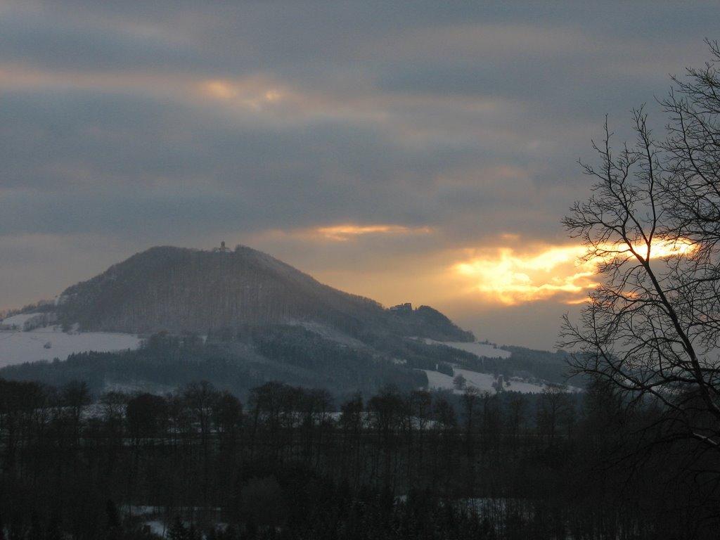 Rechberg im Abendlicht- Rechberg in the evening light, Швабиш-Гмунд