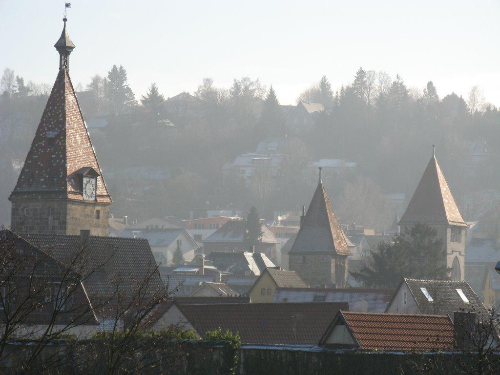 Östliche Wehrtürme, Швабиш-Гмунд