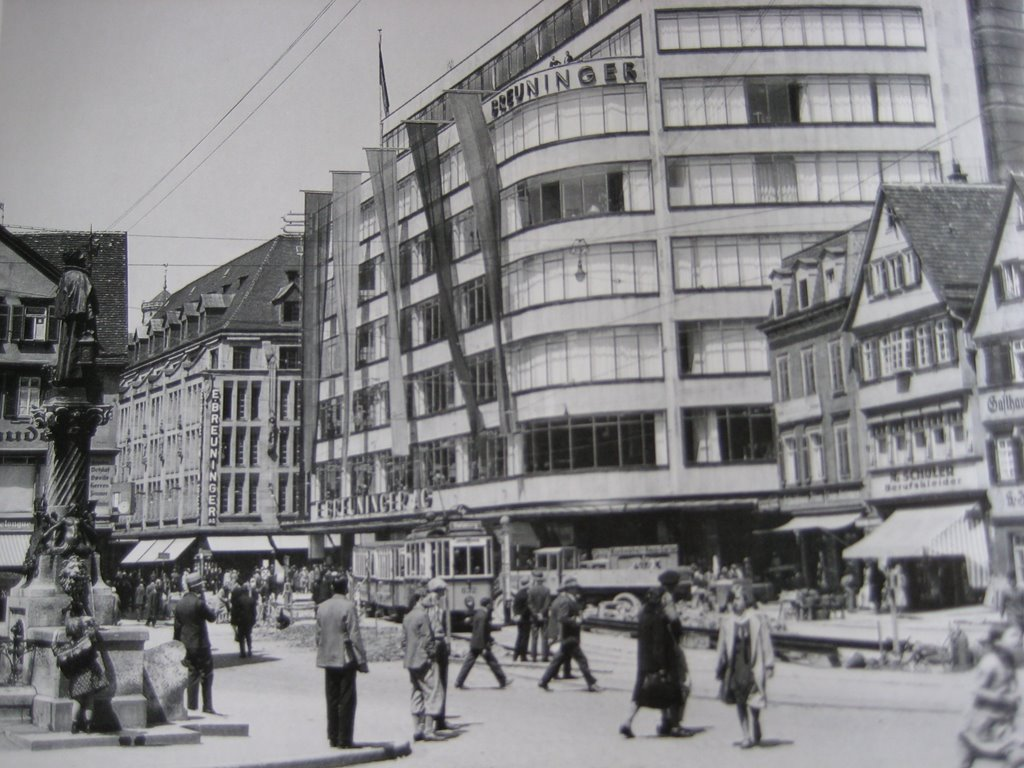Stuttgart, Kaufhaus Breuninger, 1930, Штутгарт